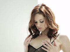 Sexy time with enticing redhead harlot Jenna J Ross