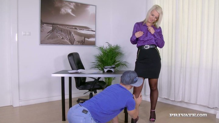 Secretary horny boss and