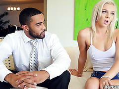 Black teacher fucks sex addicted college girl Tiffany Watson