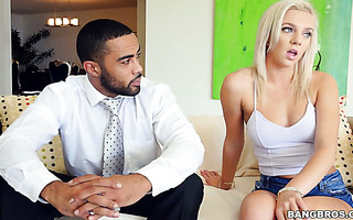 Black teacher fucks sex addicted college girl Tiffany Watson