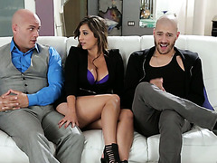 Nymphomaniac Reena Sky fucks her hubby's best friend