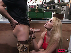 Skyla Novea sells her dearest tiara and fucks to pay tuition