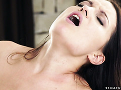 Passionate Russian girl Roxy Dee gets knocked on the backdoor