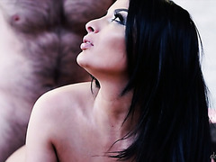 Breathtakingly gorgeous Anissa Kate gets fucked by a hairy man