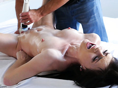 Haven Rae gets a nice massage and then gets her pussy filled with a dick