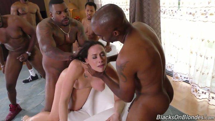 Ebony homies hole fucked