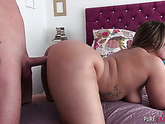 Sinful wife Ashley Rider gets fucked by husband's brother