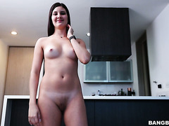 Samanta Lopez takes it up her amateur Colombian coochie