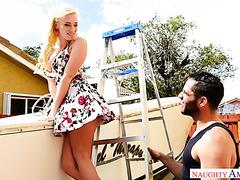 Блондинка Бэйли Брук укрощает брутального брата подруги