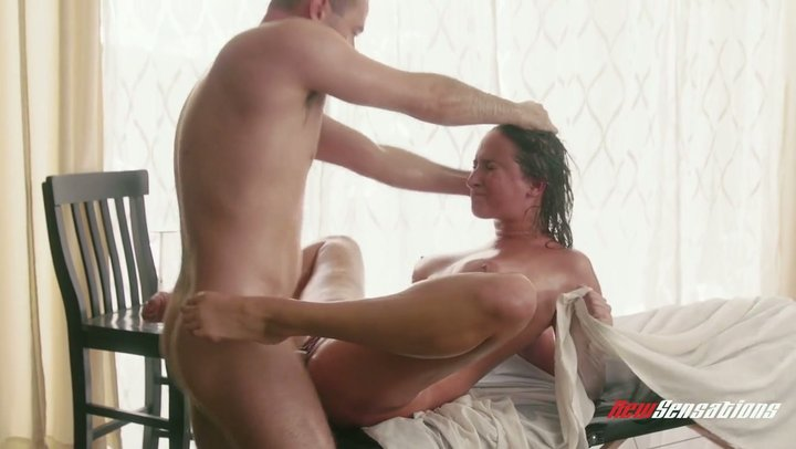 Outrageous fuck with passionate busty babe Ashley Adams