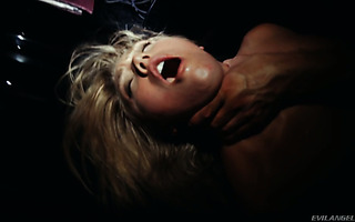 Blondie with solid whootie AJ Applegate is fucked hard at night