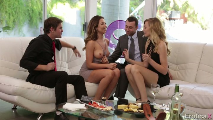 swap Swinger party wife foursome