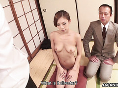 Blowjob to employee of the month by office slut Ramu Nagatsuki