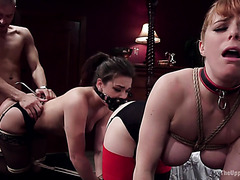 ANAl BDSM with obedient whores Penny Pax and Kimber Woods