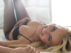 Aisha Angel is a stunning blonde temptress who loves passionate sex