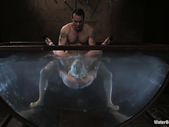 Slave Lorelei Lee is drowned and hate fucked by cruel master