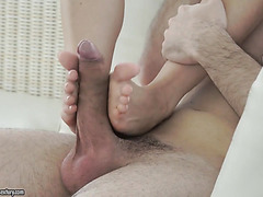 Foot fetish compilation with passionate Euro babes