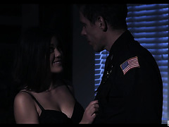 Kendra Spade feels safe with police officer's cock inside her th police officer's cock inside her