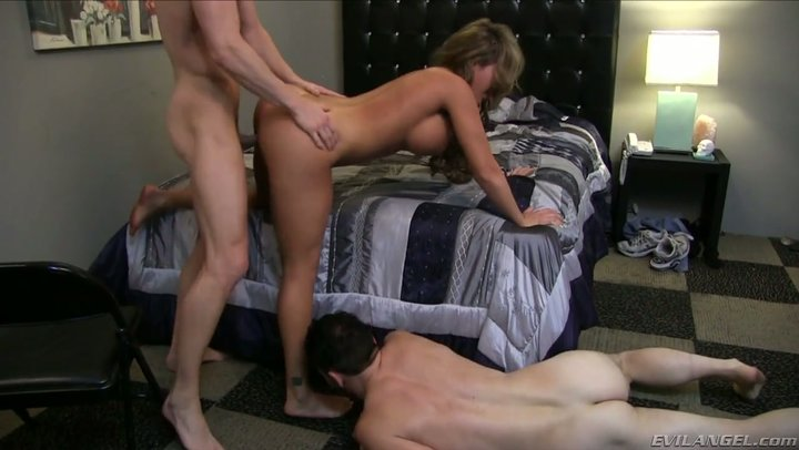 Bbc she while husband cuckold wife kissing