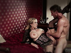 MILF in sexy lingerie Stormy Daniels gets banged nice and hard