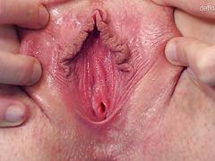 Young nervous virgins shamefully show hymen in compilation