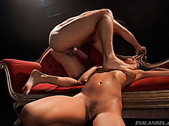Vintage - Hardcore anal and deepthroat with Belladonna
