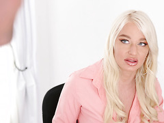 Thicc MILF BOSS London River dominates personal assistant