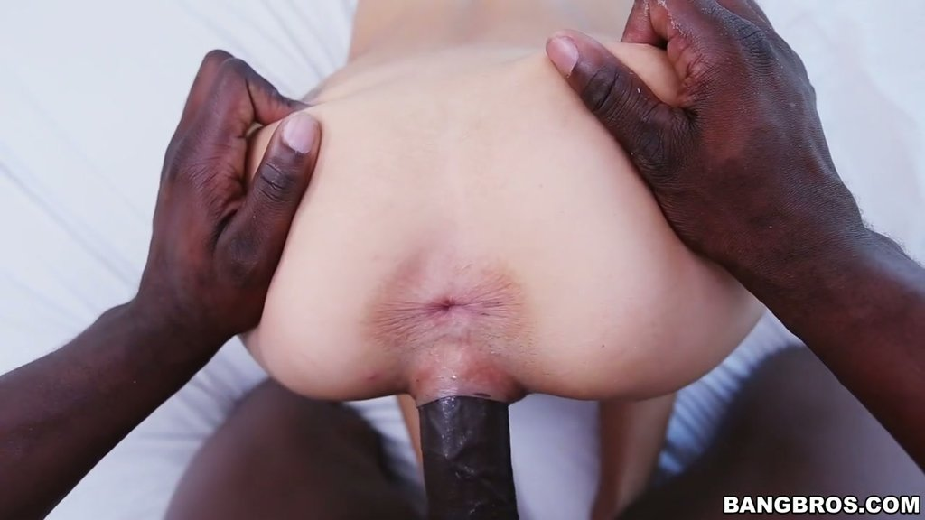 black woman watching a Dick going through phat pussy