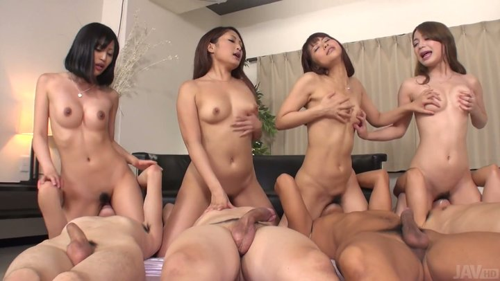 Facesitting girl orgy girl on