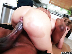 Just an enormously huge black cock pounds white coochie of Natasha White