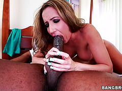 MILF Richelle Ryan finds a robber in her bedroom and fucks his BBC
